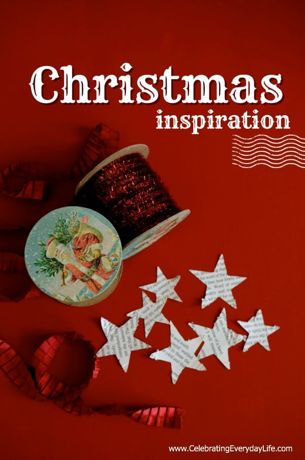 Red Christmas Inspiration, Celebrating Everyday Life with Jennifer Carroll