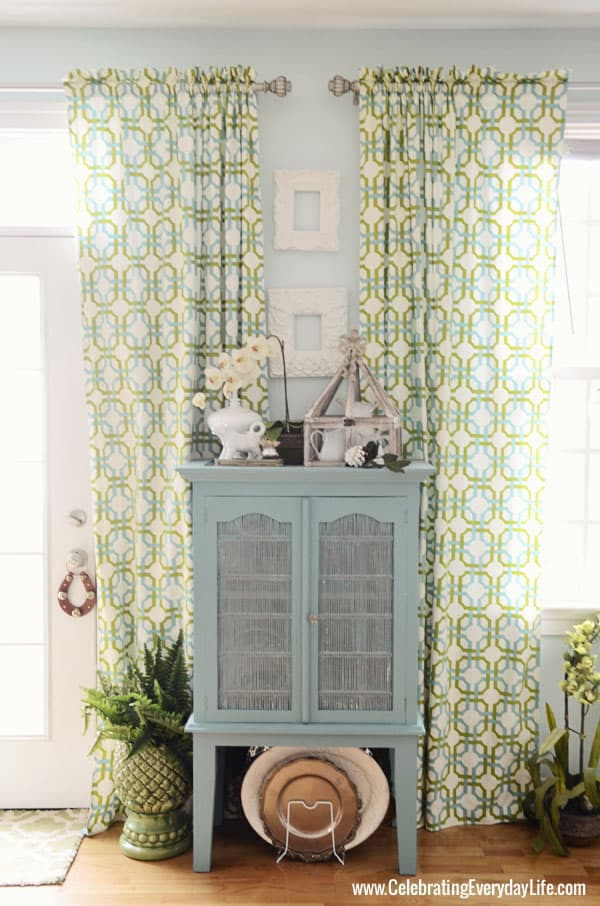 Annie Sloan Chalk Paint Provence Blue Hutch, Celebrating Everyday Life with Jennifer Carroll
