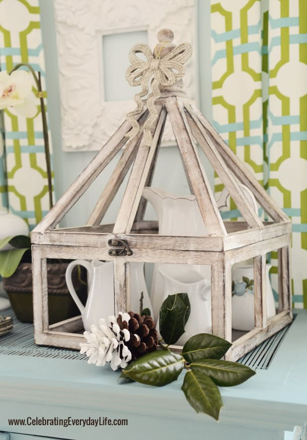 Greenhouse, Annie Sloan Chalk Paint Provence Blue Hutch, Celebrating Everyday Life with Jennifer Carroll