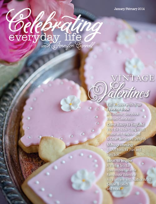 The January February 2014 issue of Celebrating Everyday Life is HERE!