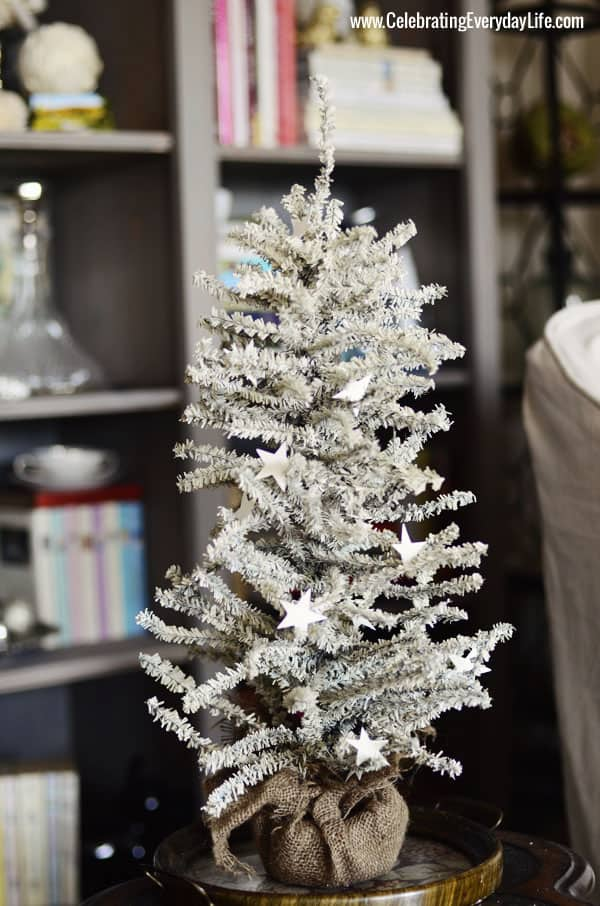 White Christmas Tree, Celebrating Everyday Life with Jennifer Carroll