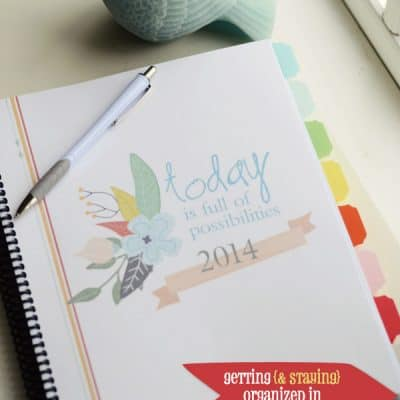 Getting and staying organized in 2014