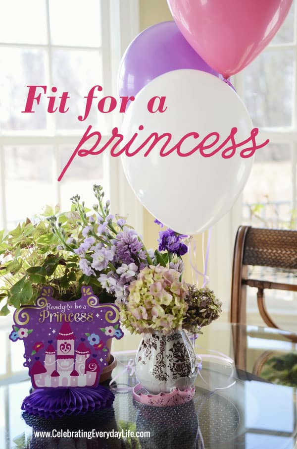 Sofia the first birthday party, 3rd birthday party, Celebrating Everyday Life with Jennifer Carroll