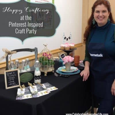 Michaels & Hometalk Pinterest-Inspired DIY Craft Party – RECAP