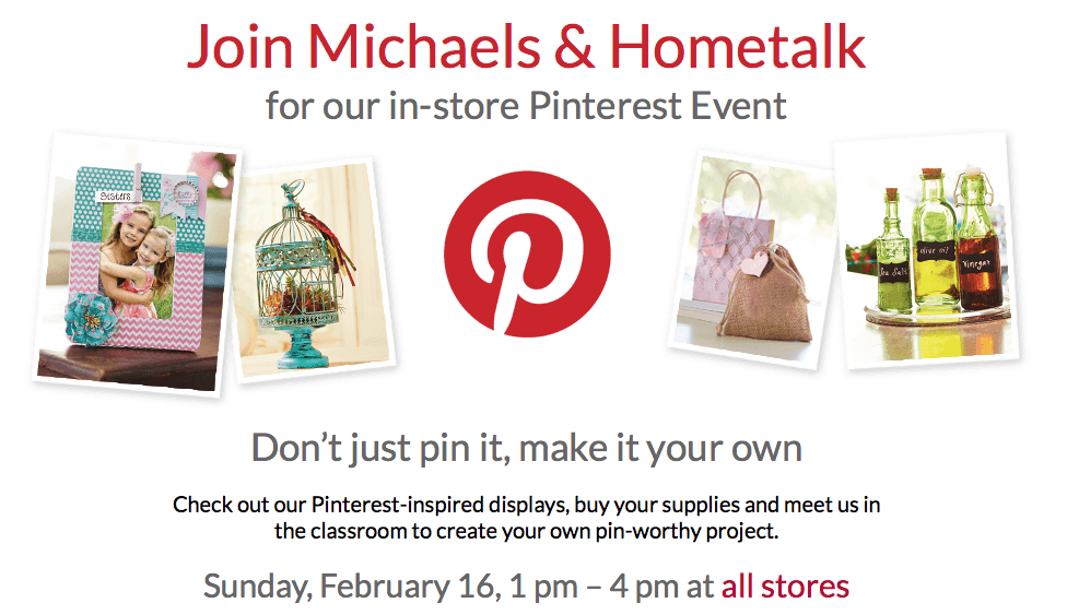 Pinterest-Inspired Crafting with Me, Michaels & Hometalk!
