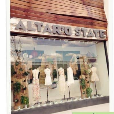 {Let's Visit} Altar'd State