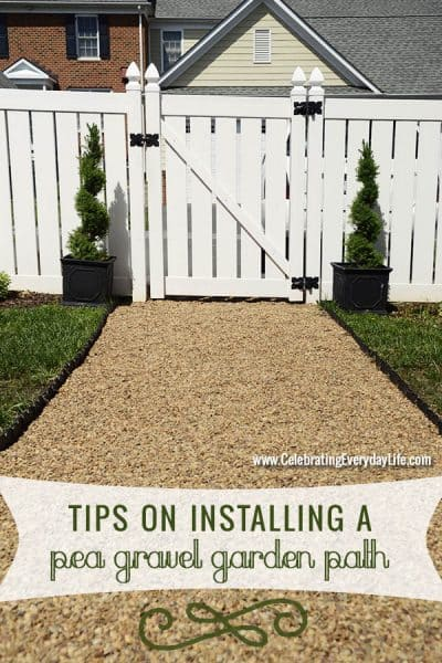 Have the Best Yard on the Block with a DIY Pea Gravel Path