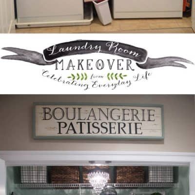 Before & After, My Laundry Room Makeover