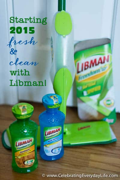 Cleaning with Libman, Libman Freedom Mop, Blog room before & After, Starting the New Year Clean!, Celebrating Everyday Life with Jennifer Carroll