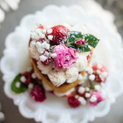 Valentine Victoria Sponge Cake recipe