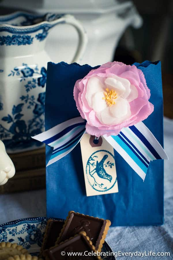 Easter gift bag on a budget, Easy easter gift idea, Easter decorating, Celebrating Everyday Life with Jennifer Carroll