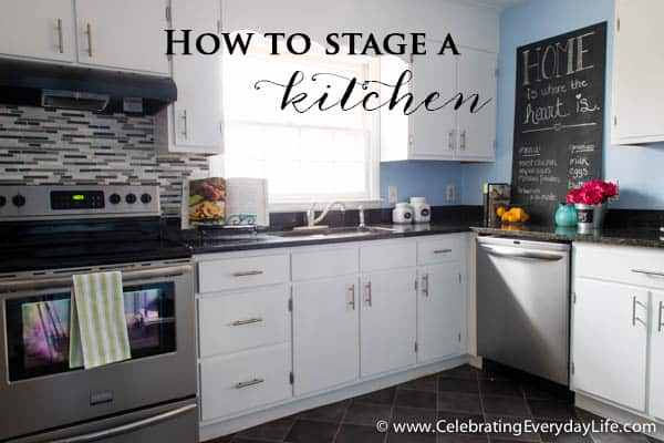How to stage a kitchen celebrating everyday life with How to stage a home for sale pictures