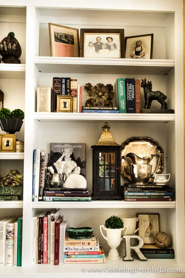 How To Stage Easy Sensational Bookshelves Celebrating