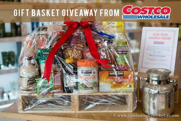 a ginormous gift basket giveaway from costco