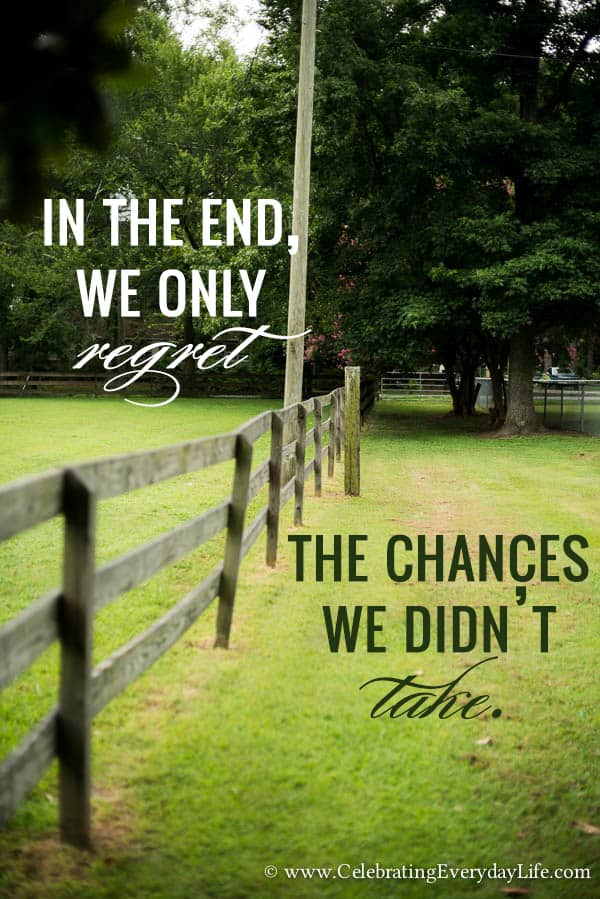 Take A Chance! An Encouraging Quote