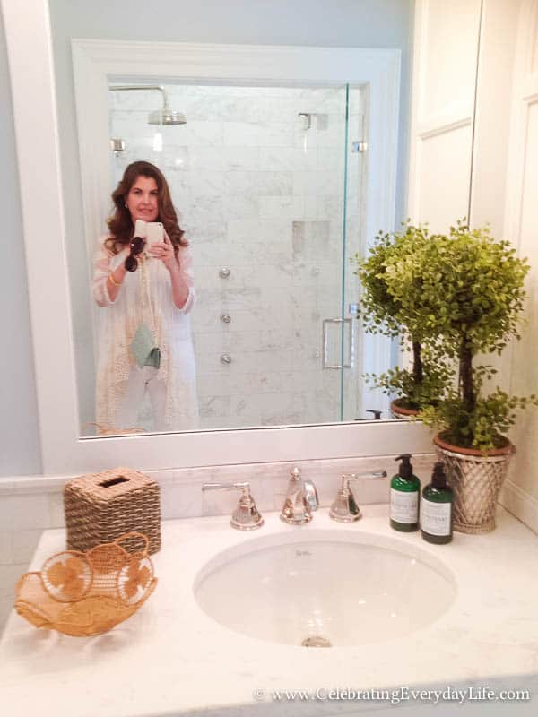 Bathroom at the 2015 Southern Living Idea House, Interior Design by Bunny Williams, Celebrating Everyday Life with Jennifer Carroll