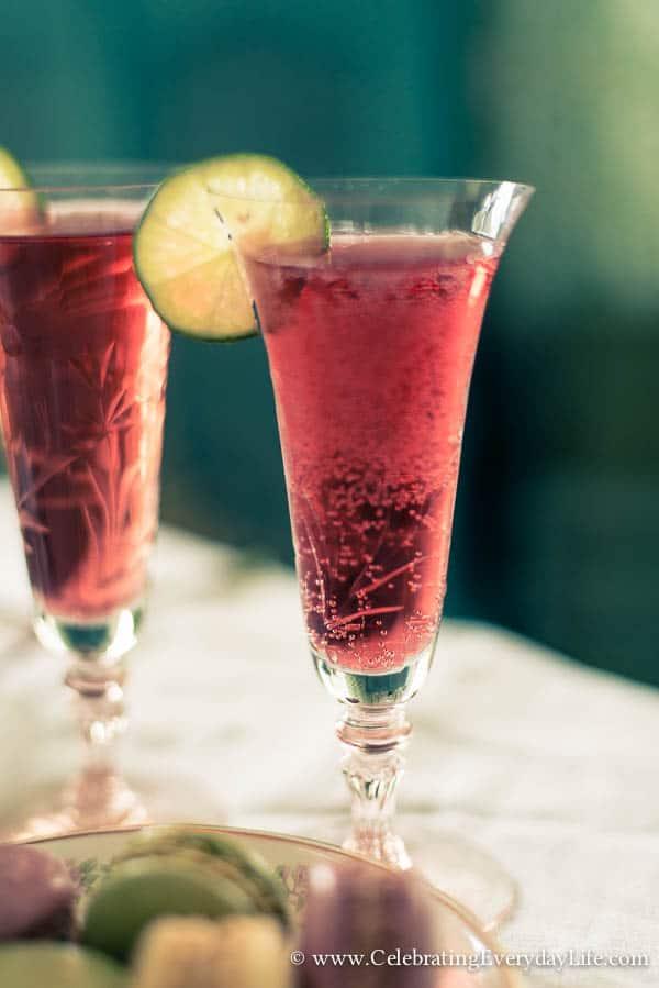 Pomegranate Spritzer Recipe - Summer Cocktail ...