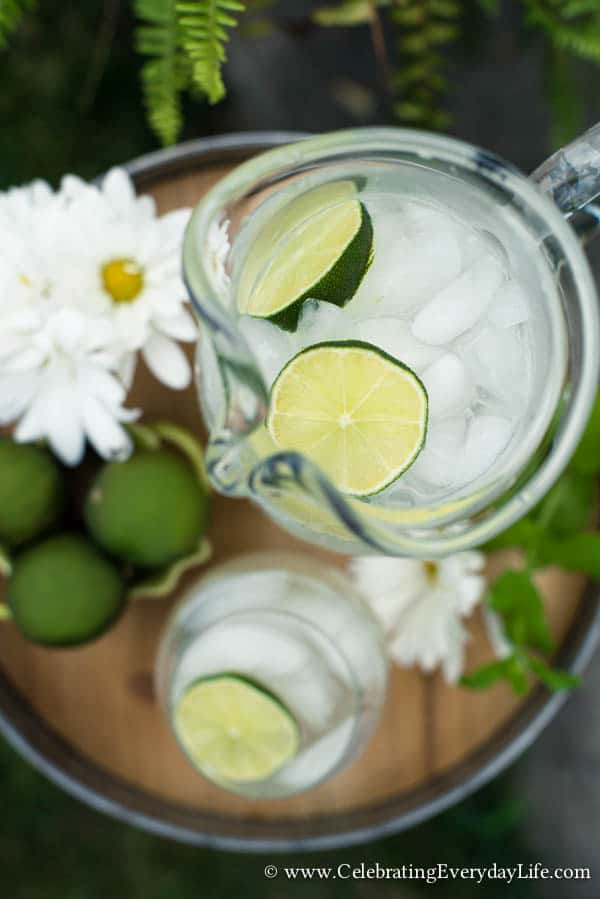 Ginger Limeade Recipe - Celebrating everyday life with Jennifer ...