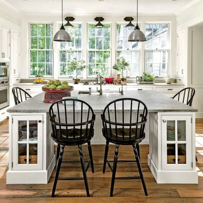 Kitchen of 2015 Southern Living Idea House, Interior Design by Bunny Williams, Celebrating Everyday Life with Jennifer Carroll
