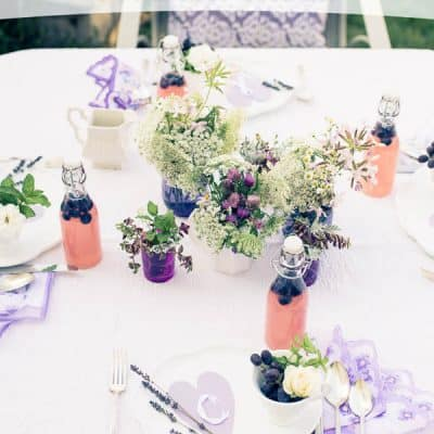 Lavender Summer Table
