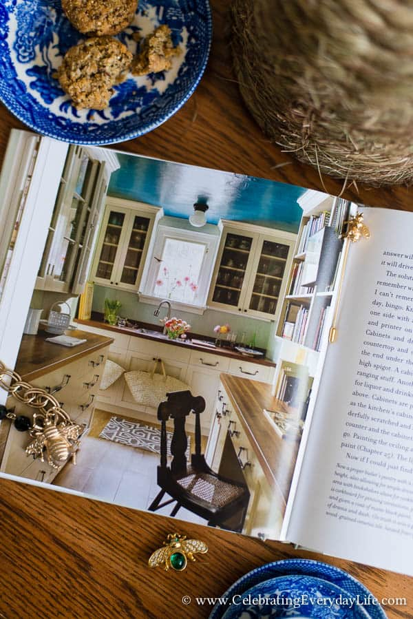 The Bee Cottage Story Book Review, House Beautiful Bee Cottage, Inspiring Cottage Home, Bee Cottage, Bee Cottage Butler's Pantry, Celebrating Everyday Life with Jennifer Carroll
