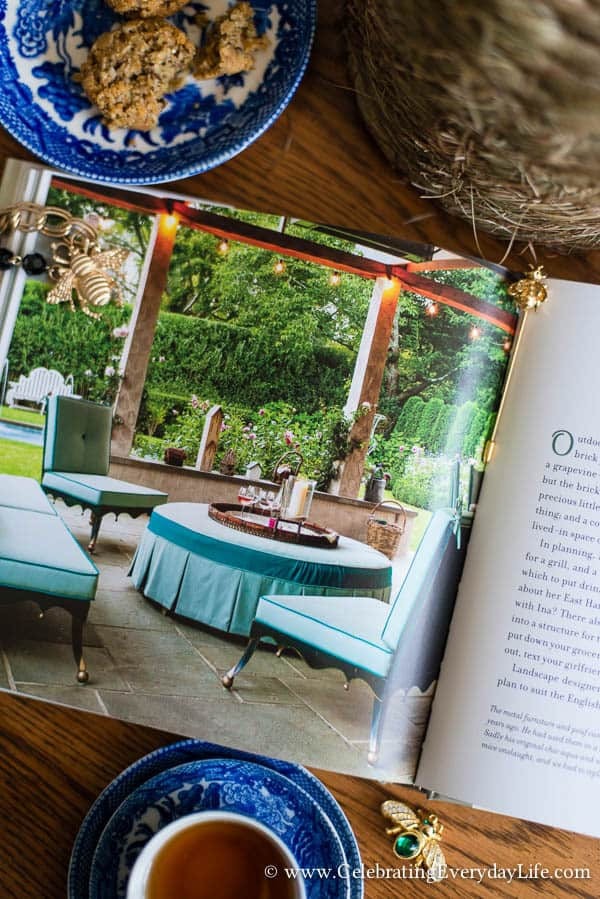 The Bee Cottage Story Book Review, House Beautiful Bee Cottage, Inspiring Cottage Home, Bee Cottage, Bee Cottage Patio, Celebrating Everyday Life with Jennifer Carroll