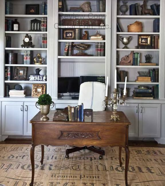 French Accents Desk, FRENCH ACCENTS Farmhouse French Style for Today's Home, Cedar Hill Farmhouse Book, Author Anita Joyce, Home Decor Book Review, Celebrating Everyday Life with Jennifer Carroll