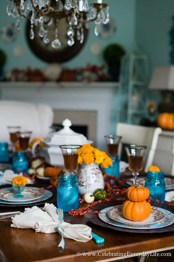Adventures In Decorating Our Fall Kitchen: Touches Of Fall Decor In My Kitchen And Dining Room