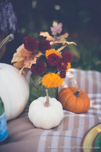 A Fall Picnic :: Enjoying the Simple Things