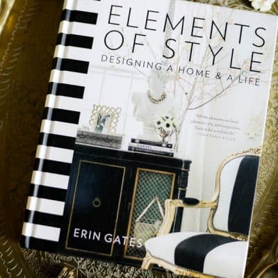 On My Bookshelf :: Elements of Style by Erin Gates