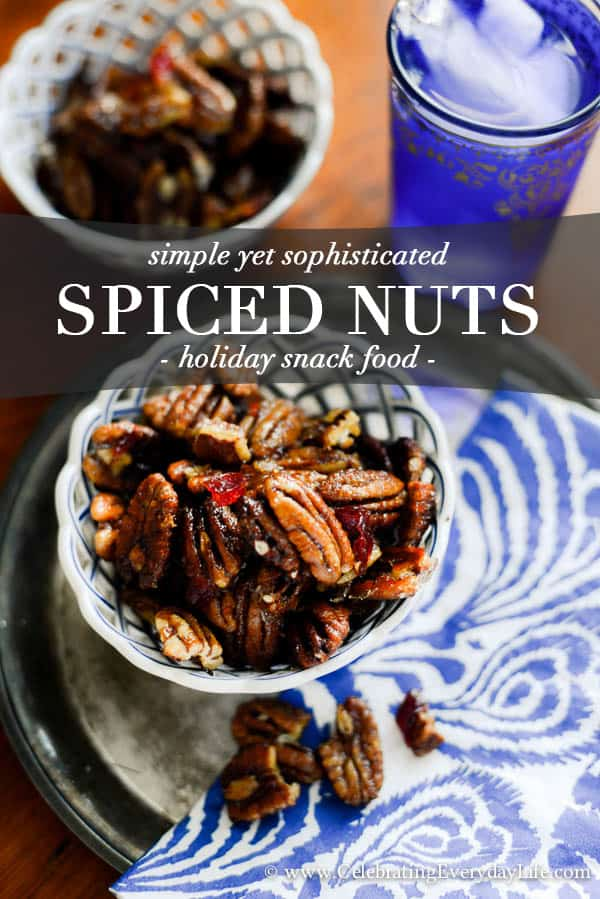 and Spiced Candied Nuts - These sweet and spicy candied nuts are sweet ...