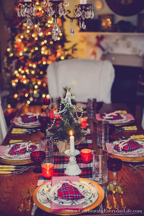 My Highland Christmas Table – Holiday Home Tour