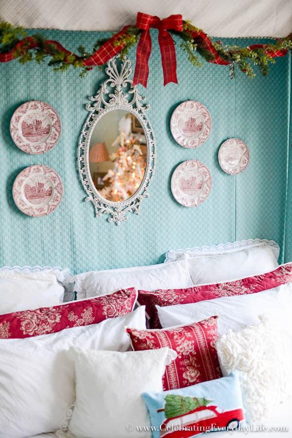 Christmas Bedroom Decor my christmas bedroom decor - celebrating everyday life with