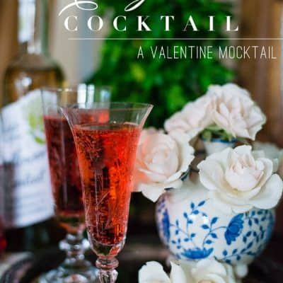 Elderflower Valentine Cocktail Recipe