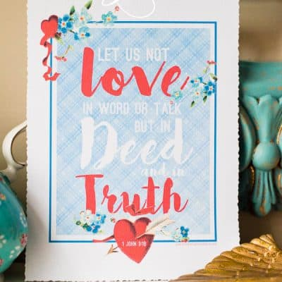 Free Valentine Printable Art