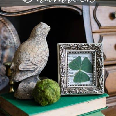 How to Frame A Shamrock – Lucky Art