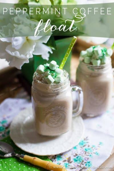 Peppermint Mocha Float – St. Patrick's Day Recipe