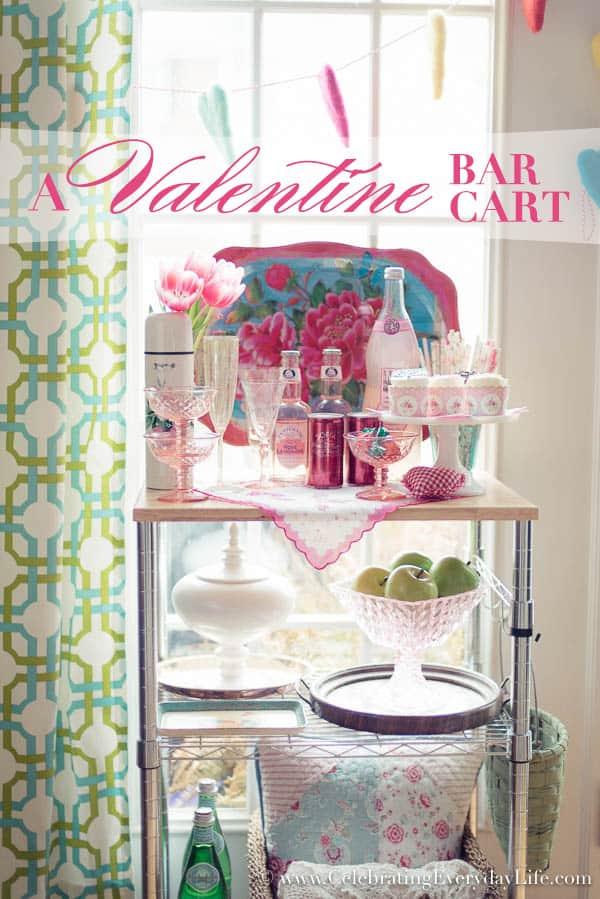 ValentineBarCart