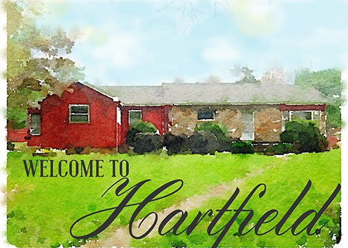 Hartfield Watercolor, Celebrating Everyday Life with Jennifer Carroll