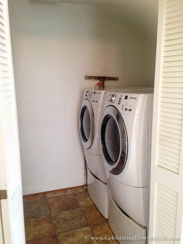 Laundry room BEFORE, Hartfield, Celebrating Everyday Life with Jennifer Carroll