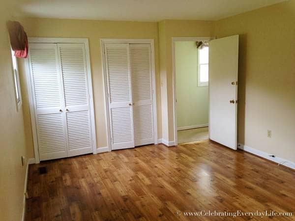 Master Bedroom BEFORE, Hartfield, Celebrating Everyday Life with Jennifer Carroll