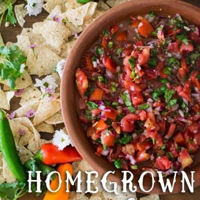 Homegrown Salsa Recipe