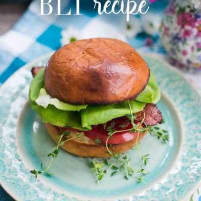 A Simple, Summer BLT recipe