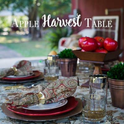 Apple Harvest Table
