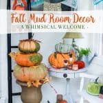Fall Mud Room Decor Ideas