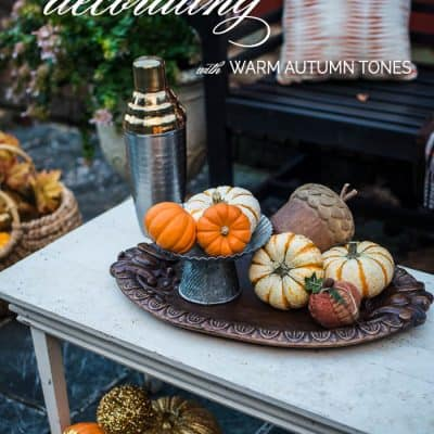 Fall Porch Ideas – Decorating with Warm Autumn Tones