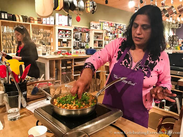 Gifts for Dad, Gifts for Him, cooking class with dad, Happy Cook cooking class, store cooking class, Celebrating Everyday Life with Jennifer Carroll