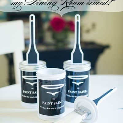 Getting ready for the holidays with My Paint Saint + my Dining Room reveal!
