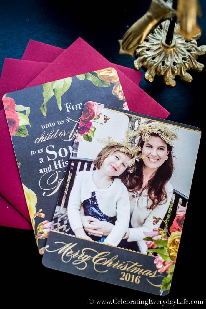 Free Christmas Scripture Printable PDF | Celebrating Everyday Life with Jennifer Carroll | www.CelebratingEverydayLife.com
