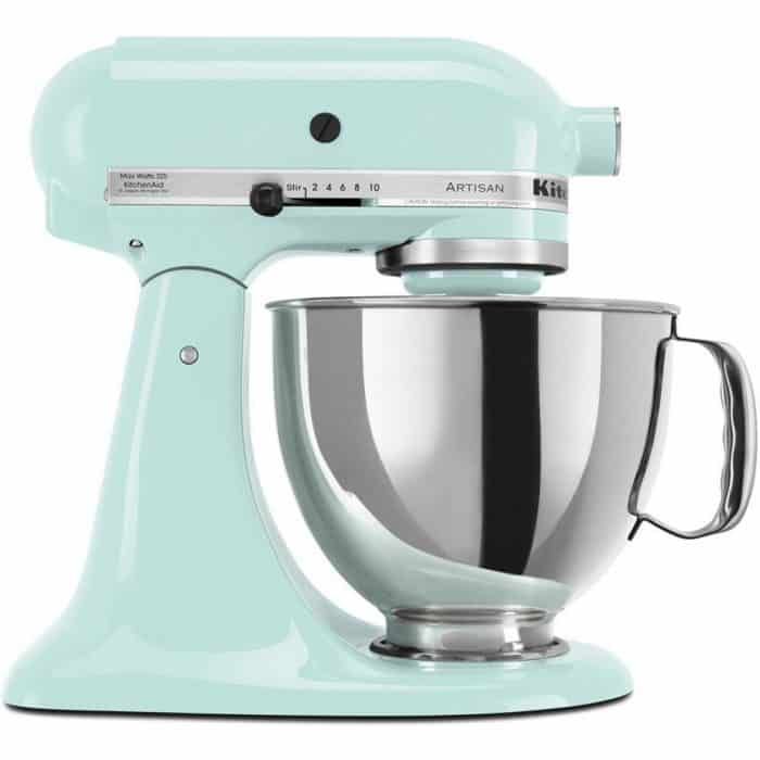 Turquoise Kitchen Aid for Farmhouse Kitchen Style | Celebrating Everyday Life with Jennifer Carroll | www.CelebratingEverydayLife.com